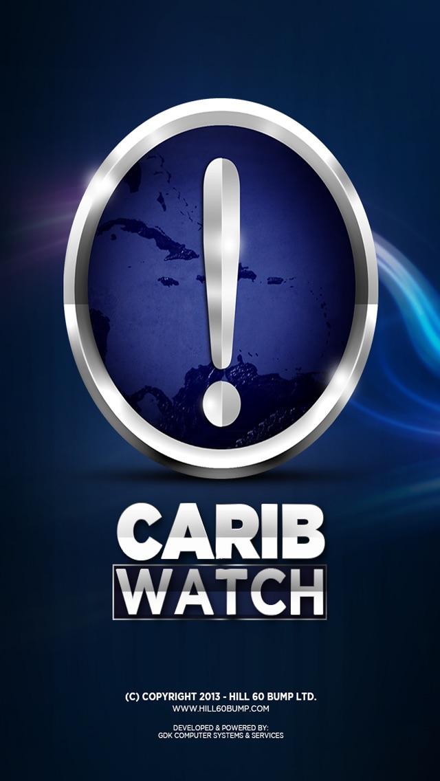 CaribWatch Caribbean Hurricane & Emergency AlertsScreenshot of 1