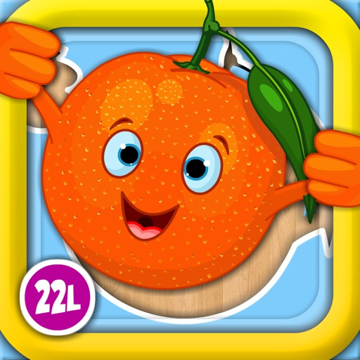 Abby Monkey® Shape Food Puzzle: First Words Learning Games for Toddlers and Preschool Explorers iOS App