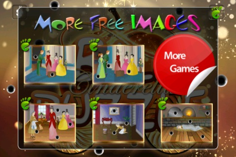 Ball Puzzle Cinderella - Imagination Stairs - ball game app screenshot 2