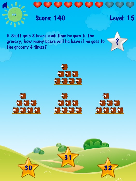 Ace Kids Math Word Problems Advanced HD Free by Hien Ton