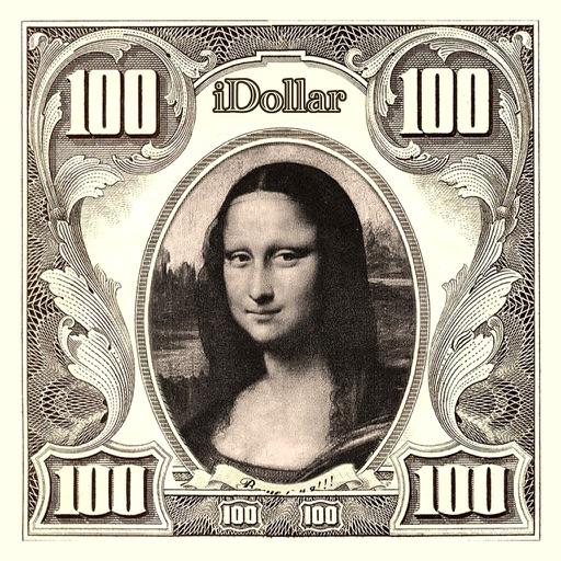 iDollar【把自己头像印在100美刀上】