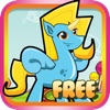 Little Unicorns in Candy land - My Fun Jumping & Flying Girly Game