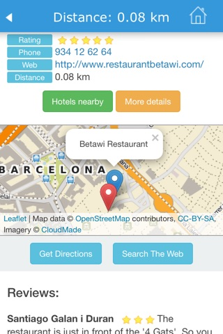 Barcelona (Spain) Guide, Map, Weather, Hotels. screenshot 3