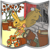 The Tale of Peter Rabbit with Puzzle Pictures