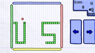Screenshots of Doodle Snake :) for iPhone