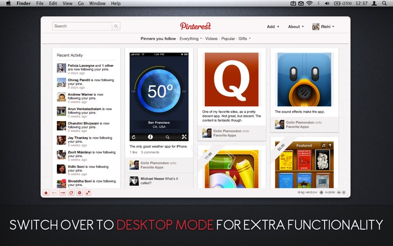 Pin pro for pinterest app download android apk - Pinterest mobel ...