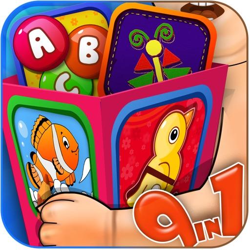 儿童游戏九合一 9-In-1: Little Genius Kids HD Pro