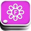 Floral Fan Deck