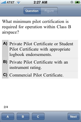 FAA Test Prep -  Private Pilot screenshot 1