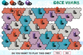 Dice Wars review screenshots
