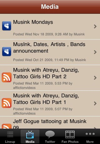 Musink Tattoo & Music Festival screenshot 3