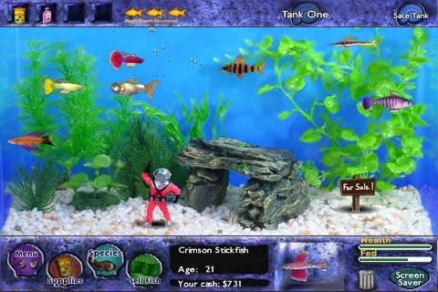 Fish Tycoon Lite screenshot 1