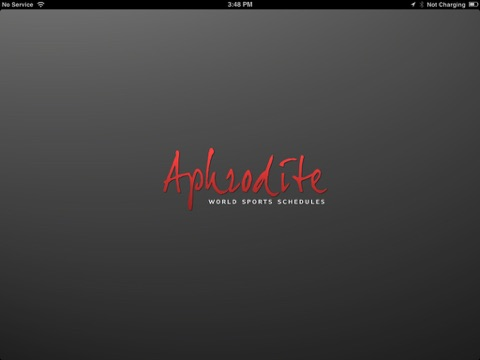 Aphrodite World Sport Schedules iPad