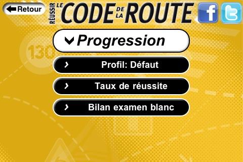 Réussir le Code de la Route CLASSIC screenshot 2