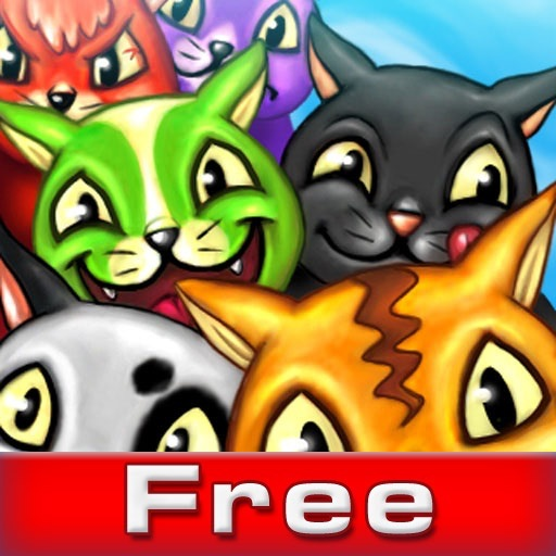 Colored Cats (FREE) iOS App