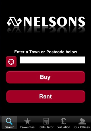 Nelsons Lettings and Sales Property Search screenshot 1