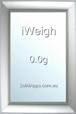 iWeigh screenshot 1