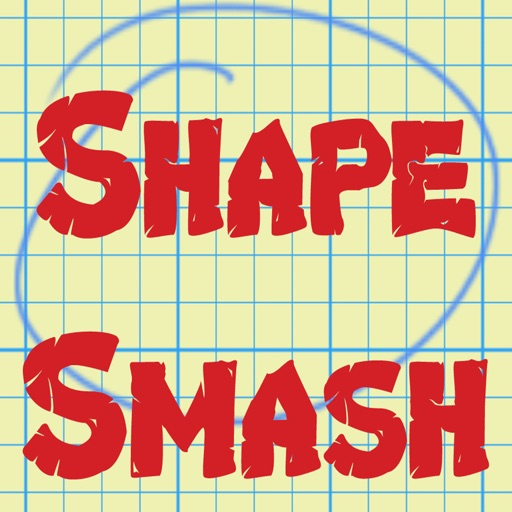 Shape Smash - Black & White iOS App