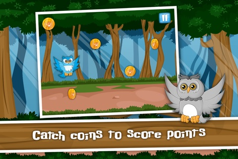 The Flippy Flappy Floppy Owl - A Tap Flap and Fly Bird Game screenshot 3