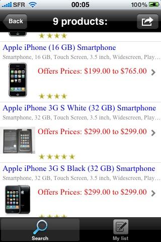 ShopPricesCapture d'écran de 1