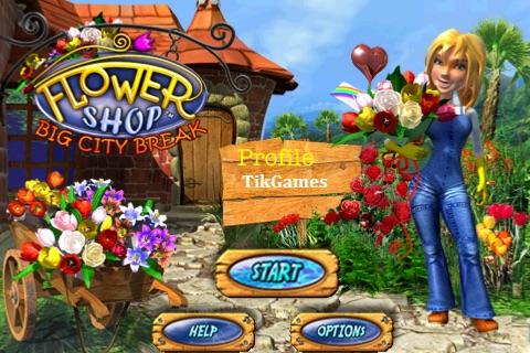 Flower Shop Big City Break Lite screenshot 1