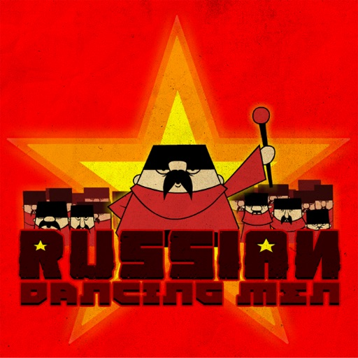 俄国舞男Russian Dancing Men【搞笑音乐跑酷】