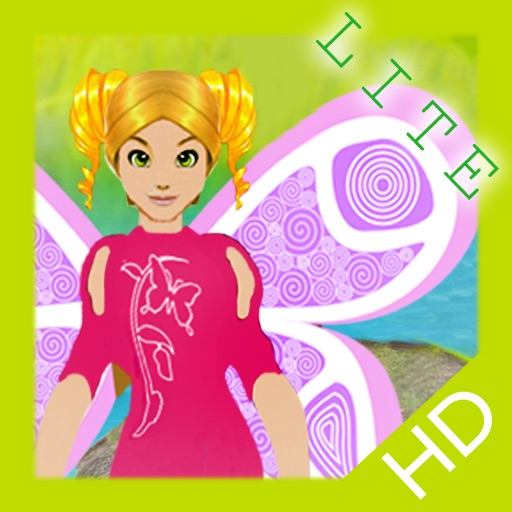 Fairy Princess Dress-Up HD Lite iOS App
