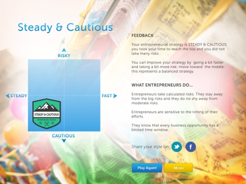 Climbing Everest: What is your entrepreneurial strategy? screenshot 3