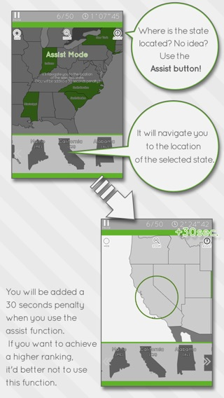 Enjoy Learning US Map Puzzle On The App Store - Us state map puzzle web game