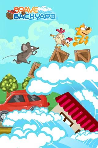 A Brave Backyard - Amazing Animal Jump-ing Game in Your Garden screenshot 1
