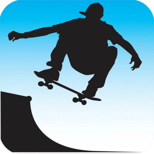 Main St. Surfer- Joyride on skateboard at city shopping street iOS App