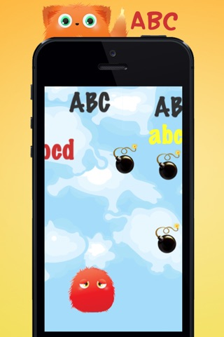 ABC Monster Friends – Fun game for children to learn the letters of the alphabet for preschool, kindergarten or school! screenshot 1