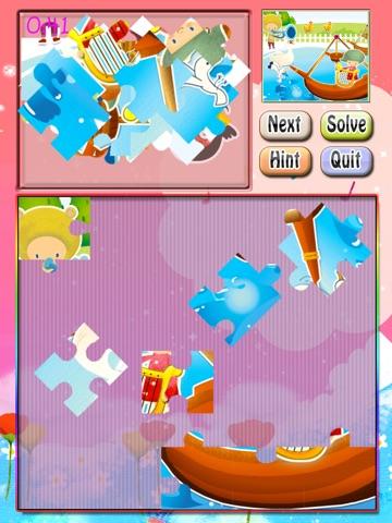 Toddler Puzzle HD Free screenshot 2