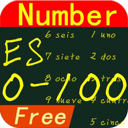 Learn Spaish Number Lite iOS App