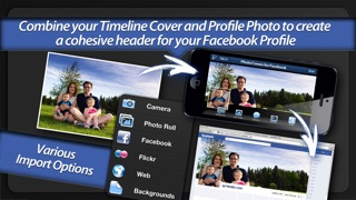 Screenshot #6 for Photo Covers for Facebook LITE: Timeline Editor