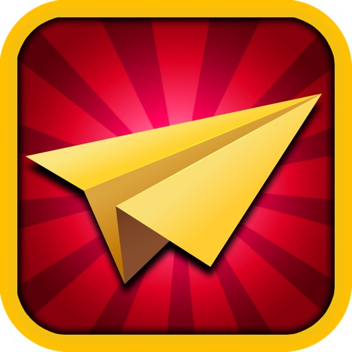 Flappy Office Desk - Tiny Flying Paper Plane Through An Impossible Smash & Hit Free Fall Game iOS App