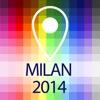 離線地圖米蘭 - 指南,景點和交通