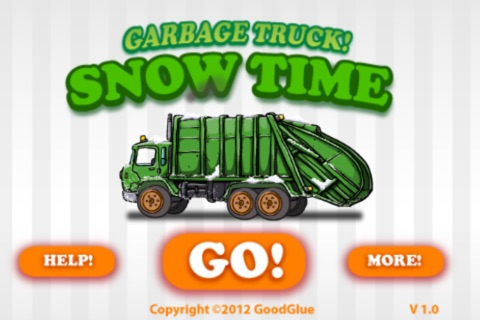 Garbage Truck: Snow Time screenshot 1