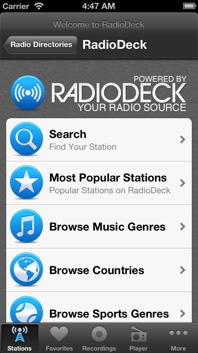 Internet Radio Box Screenshot 3
