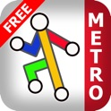 Rome Metro Free - Map and route planner by Zuti icon
