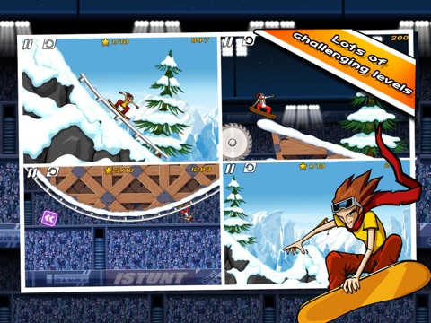 Игра iStunt 2 HD - Snowboard