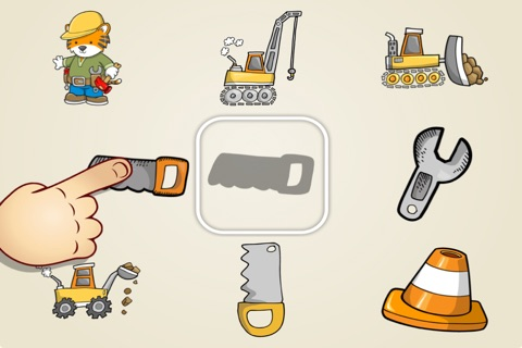 Match the Shapes for Kids and Toddlers - Farm, Animals and Tool Edition screenshot 2