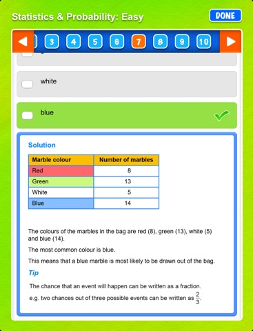 Excel NAPLAN*-style Year 5 Numeracy Tests screenshot 4