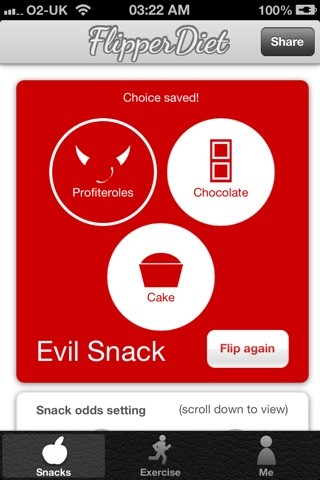 FlipperDiet - Put you in control of cravings! screenshot 4