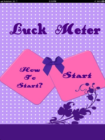 Luck Meter HD screenshot 1