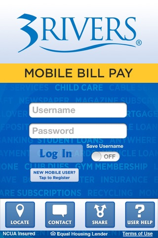 3Rivers Mobile Bill Pay screenshot 1