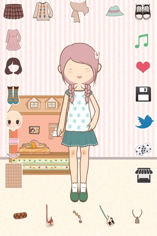 Paris Chic: Cute Dress Up Game screenshot 4