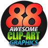 88 Awesome Clipart Graphics - Royalty Free Images
