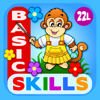 Abby Monkey® Basic Skills: Preschool and Kindergarten Kids Educational Early Learning Adventure Games.▫ TeachMe Counting, Colors, Alphabet, Math, Numbers, Shapes Sorting, Patterns, Puzzles, Learn to Read Letters for Toddler Children