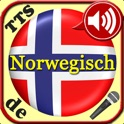 Norwegian Vocabulary Trainer with speech recognition and speech output for use in the car with favorites feature for repeating difficult vocabs icon